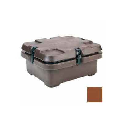 Cambro 240MPC131 - Camcarrier, Half Size Food Pans, 5.3 Qts, 16-1/2x13-7/8, Stacking Lugs, Brown