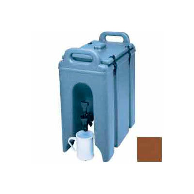 Cambro 250LCD131 - Camtainer Beverage Carrier, Insulated, 2-1/2 Gal., 16-1/2x9x18-3/8, Dark Brown