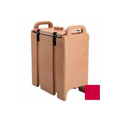 Cambro 350LCD158 - Camtainer Soup Carrier, Insulated Plastic, 3-3/8 Gal.,, 16-1/2x9x18-3/8, Hot Red
