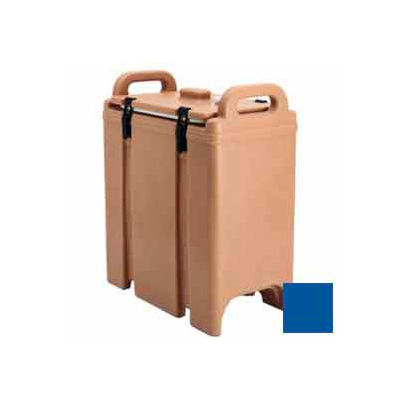 Cambro 350LCD186 - Camtainer Soup Carrier, Insulated Plastic, 3-3/8 Gal, 16-1/2x9x18-3/8, Navy Blue