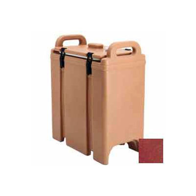 Cambro 350LCD402 - Camtainer Soup Carrier, Insulated, 3-3/8 Gal., 16-1/2x9x18-3/8, Brick Red