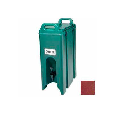 Cambro 500LCD402 - Beverage Carrier, Insulated Plastic, 4-3/4 Gal., 16-1/2 x 9 x 24-1/4, Brick Red