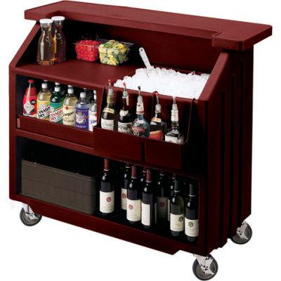 Cambro BAR540131 - Small Size, Bottle Service, Standard Decor, Dark Brown
