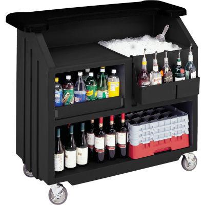 Cambro BAR540DS - Beverage Bar, Small Portable, Black Base