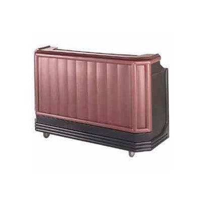 """Cambro BAR650DX189 - Portable Bar 67.5"""" Browne Mahogany"""