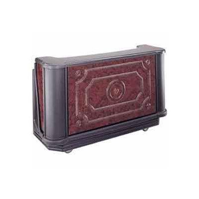 """Cambro BAR730DS770 - Portable Bar 72-3/4"""" Chicago"""