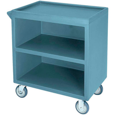 """Cambro BC330401 - Bus Cart 330 With  5"""" Casters, Slate Blue NSF"""