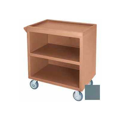 "Cambro BC3304S401 - Bus Cart 330 5"" Casters (4 Swivel 1 with Brake) Slate Blue"