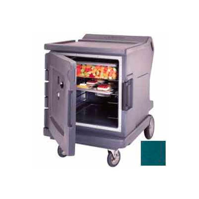 Cambro CMBHC1826LF192 - Hot/Cold Electric Cart Low Profile Granite Green Celsius