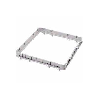 """Cambro E3151 - Open Extender, Full Size, 19-5/8 x 19-5/8 x 2, Adds 1-5/8"""" To Rack Height, Soft Gray - Pkg Qty 12"""