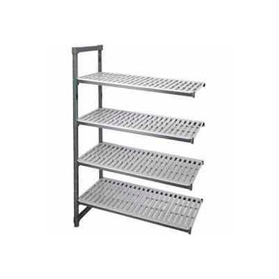 "Camshelving Add-On Unit, 18""W x 36""L x 72""H, Brushed Graphite"