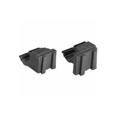 Camshelving® Elements Corner Connector Set, Brushed Graphite