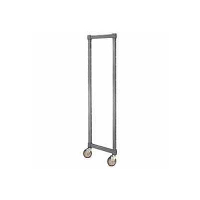 """Camshelving® Elements Post Kit, for Mobile Unit, 18""""W x 78""""H Brushed Graphite"""