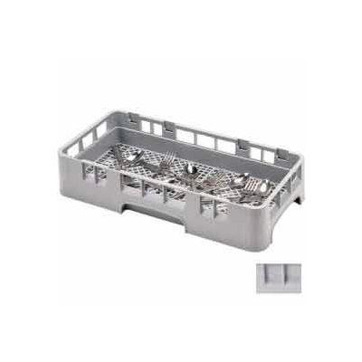 "Cambro HFR258151 - Camrack HFR258151, Flatware Rack, 1/2 Size, 19-3/4"" x 9 7/8"" x 4"", 2-5/8"", Gray - Pkg Qty 6"