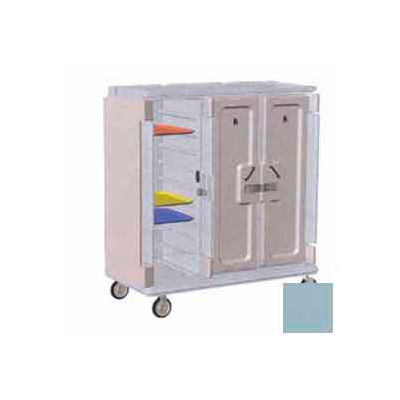 Cambro MDC1418T30401 - Meal Delivery Cart Tall Profile, 3 Doors, 60 x 29-1/4 x 63-5/8, Slate Blue