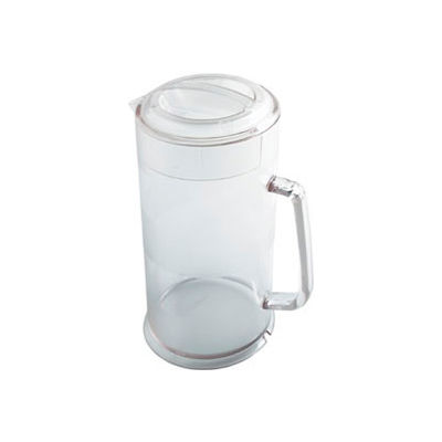 "Cambro PC64CW135 - Pitcher, 64 Oz., 9-3/4""H With Lid - Pkg Qty 6"