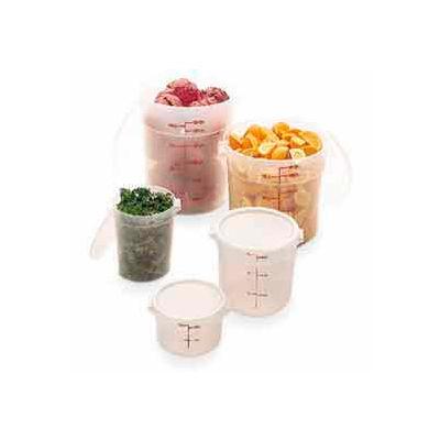 "Cambro RFS22PP190 - Storage Container, Round, 22 Qt., 13-1/2"" Dia. x 15""H, Translucent, Poly-P - Pkg Qty 12"