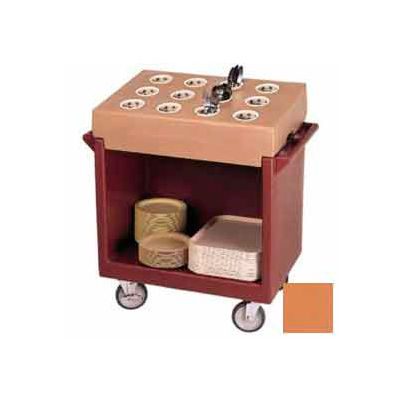 Cambro TDC2029157 - Dish Cart Only / 38-1/8x22-1/4x34-1/4 / Coffee Beige