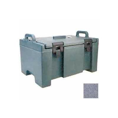 Cambro UPC100191 - 100 Series Food Pan Carrier, Top Loading, Cap. 40 Qt., Granite Gray