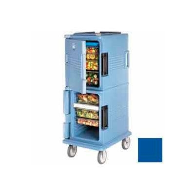 "Cambro UPC800186 - Ultra CamCart Food Pan Carrier, Cap. 60 Qt., 6"" Casters, Navy Blue"