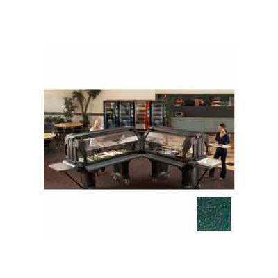"""Cambro VBRHD5519 - Versa Food Bars™Serving Buffet, Cold Food, 60"""" x 36"""" Kentucky Green"""