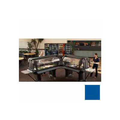 "Cambro VBRL6186 - Versa Food Bars™Serving Buffet, Cold Food, 72"" x 29"" (Low), Navy Blue"