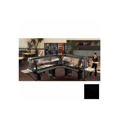 "Cambro VBRLHD6110 - Versa Food Bars™Serving Buffet, serving buffet, 72"" x 29"" (Low), Black"