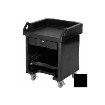 Cambro VCS110 - Versa Cash Register Cart Lockable Center Drawer, Black