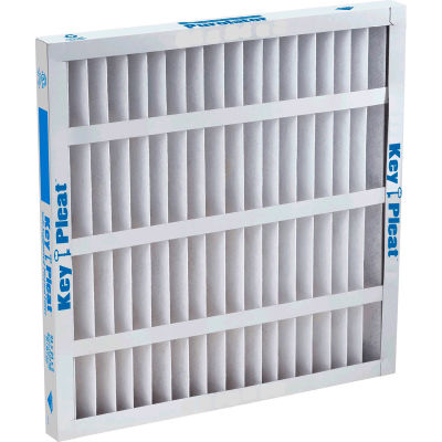 "Purolator® 5251079133 Self Supported Pleated Filter 24""W x 24""H x 1""D - Pkg Qty 12"