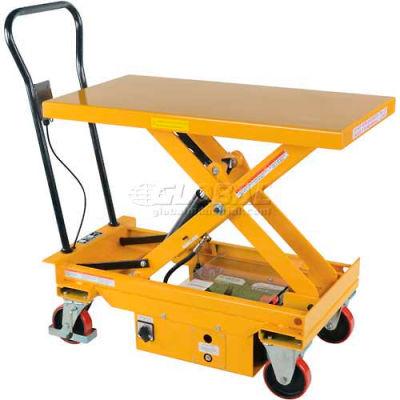 DC Power Hydraulic Scissor Cart - Single - CART-1000-DC