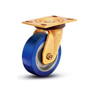 "Shepherd® 8"" Dia. Steel Rigid Caster - COR80158YZ-STL51(GG) - 1750 Lb. Cap."
