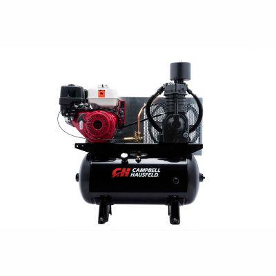 Campbell Hausfeld® CE7003, 13 HP, Stationary Gas Comp, 30 Gal, 200 PSI, 25 CFM, Honda, Electric