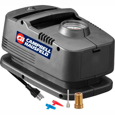 """Campbell Hausfeld® RP410099AV, Home 120 Volt Inflator System, 120V, 150 PSI, 32"""" Hose"""