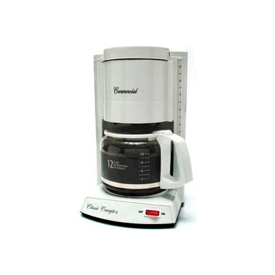 12-Cup Classic Coffee Maker, White, CC120