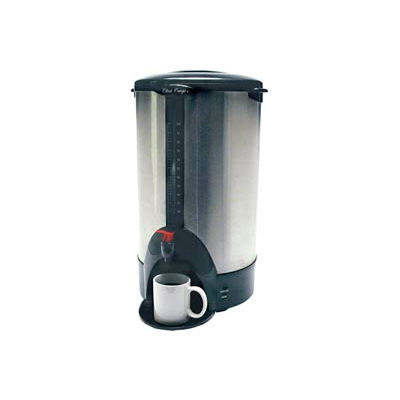 Classic Coffee Concepts SSU100 - Coffee Percolator Urn, 100-Cup, Stainless Steel