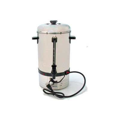 Classic Coffee Concepts SSU36-Coffee Percolator, 36-Cup, Stainless Steel , 120V