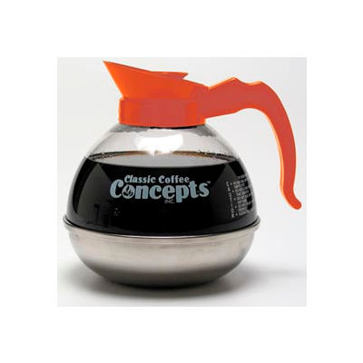 12-Cup Unbreakable Commercial Decanter, Decaf, UD1013