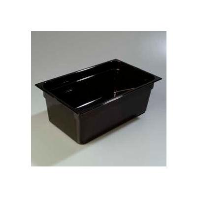 "Carlisle 1020303 - Topnotch® Full-Size Food Pan 20-3/4"" x 12-3/4"", Black, 8"" Deep - Pkg Qty 6"