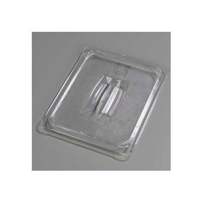 "Carlisle 10230U07 - Topnotch® Universal Handled Lid 12-3/4"" x 10-3/8"", Clear - Pkg Qty 6"
