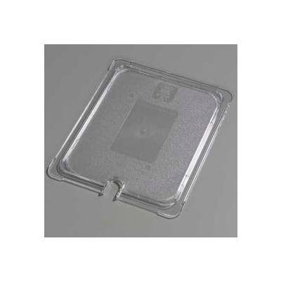 "Carlisle 10237U07 - Topnotch® Universal Flat Notched Lid 12-3/4"" x 10-3/8"", Clear - Pkg Qty 6"