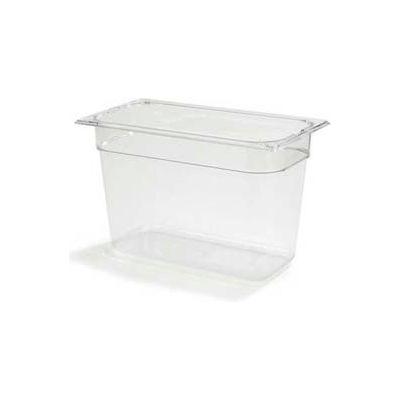 "Carlisle 1026907 - Topnotch® Third Size Food Pan 8"" Deep, Clear - Pkg Qty 6"