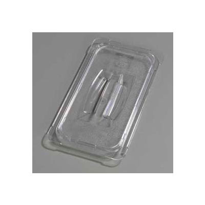 "Carlisle 10270U07 - Topnotch® Universal Handled Lid 12-3/4"" x 7"", Clear - Pkg Qty 6"