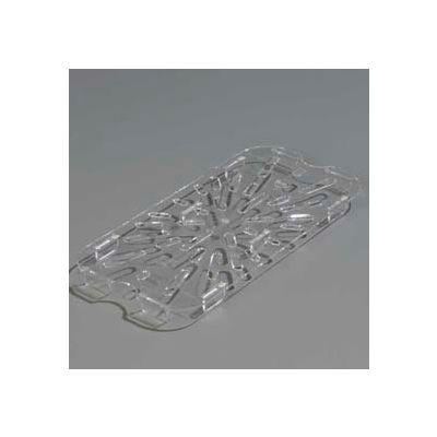 "Carlisle 1027507 - Topnotch® Drain Shelf 10-3/8"" x 4-3/4"", Clear - Pkg Qty 6"
