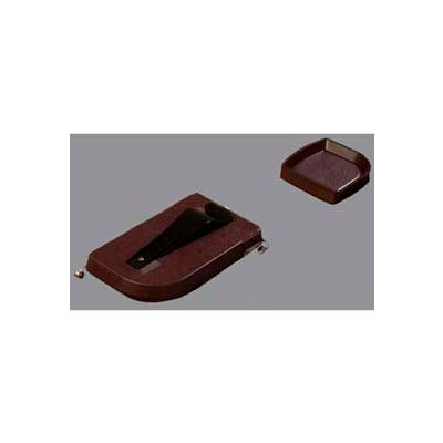 "Carlisle 103101 - Money Maid™ Round Combo Pack W/Six Coin Trays 14"", 14"", 2-1/4"", Brown - Pkg Qty 12"