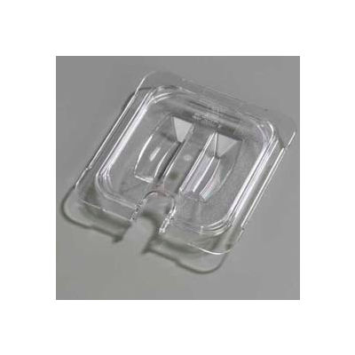 "Carlisle 10311U07 - Topnotch® Universal Handled Notched Lid 6-3/4"" x 6-3/8"", Clear - Pkg Qty 6"