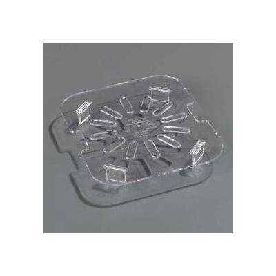 "Carlisle 1031507 - Topnotch® Drain Shelf 4-3/4"" x 4-1/4"", Clear - Pkg Qty 6"