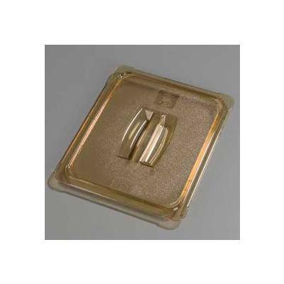 "Carlisle 10430U13 - Topnotch® Universal Handled Lid 12-3/4"" x 10-3/8"", Amber - Pkg Qty 6"