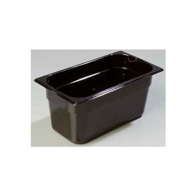 "Carlisle 1048213 - Topnotch® One-Quarter Size Pan 10-1/4"" x 6-3/8"", Amber, 6"" Deep - Pkg Qty 6"