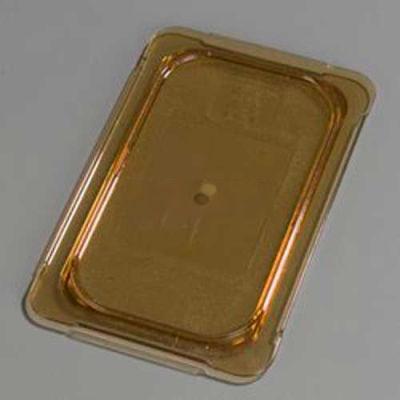 "Carlisle 10496U13 - TopNotch® Universal Flat Lid, 10-1/4"" x 6-3/8"", Amber"