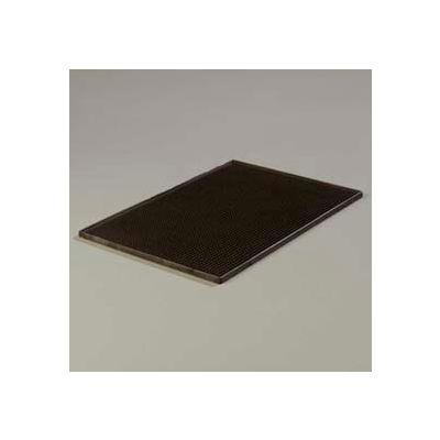 "Carlisle 1060103 - Service Mat, 12"" x 18"" Service Mat 7/16"", Black - Pkg Qty 6"